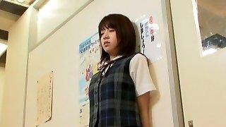 Incredible Japanese mega-bitch Haruka Ito in Amazing School/Gakuseifuku, Dildos/Toys JAV scene