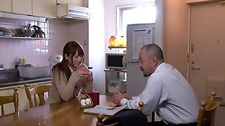 Akiho Yoshizawa in Bride Screwed by her Daddy in Law part 2.2