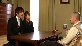 Akiho Yoshizawa in Bride Romped by her Daddy in Law part 1.2