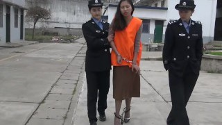 chinese girl at jail partTrio