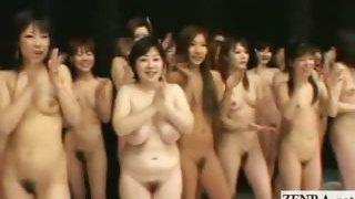 Subtitle Japan women naturist group red light green light