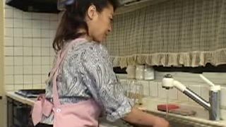 Japanese housewife to excited young man 3