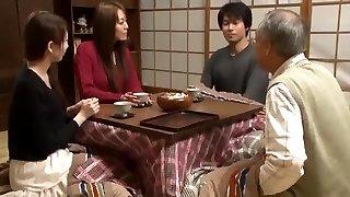 Crazy Japanese whore Marin Nagase, Akari Minamino in Greatest Frigging JAV gig