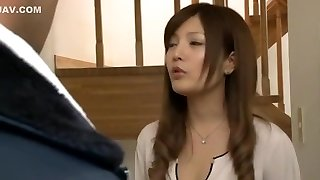 Incredible Japanese girl Yuria Kiritani in Fabulous Gang-fuck, Double Penetration JAV scene