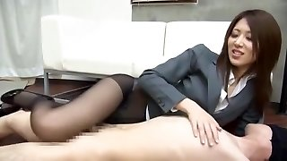 Incredible Japanese model Riko Miyase in Insane Fetish, Sole Job/Ashifechi JAV clip