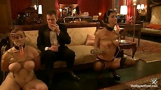 Cherry Ripped & Bella Rossi in Cigars Scotch And Oral Jobs - TheUpperFloor