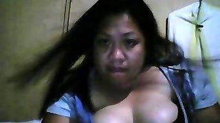 Filipino gross big fatty mega-bitch show boobs
