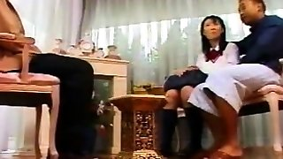 Priva Three Way Anal Asian Blowjob