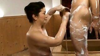 Splendid curvy older gets slit licked while giving tit fuck