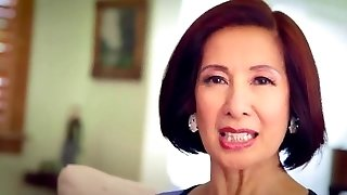 64 year elder Milf Kim Anh talks about Anal Sex