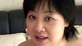 44yr old Lush Busty Japanese Mom Craves Spunk (Uncensored)