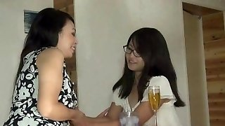 Mature Chinese Bitch and Youthful Teen Girl
