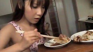 Momo Aizawa has shaved cunny licked and boned