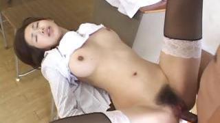 Mai Hanano Sexy Japanese teacher ravaged part5