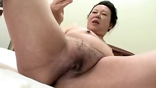 Asian BBW Granny shino moriyama 66-years-old H-0930