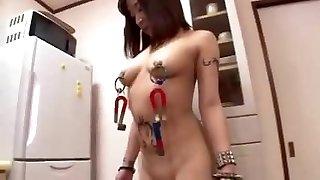Shock Transformation Nymph ASAMI Of Nip Piercing