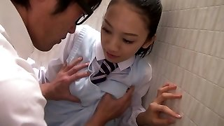 An Tsujimoto in Tsujimoto The Whorish Student - TeensOfTokyo
