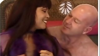 Promiscuous asian MILF Mimi fucks an ugly old bald dude