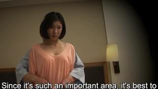 Subtitled Japanese hotel rubdown oral fuck-a-thon nanpa in HD