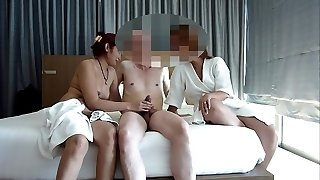 couple share asian hooker for wag asiaNaughty part 1