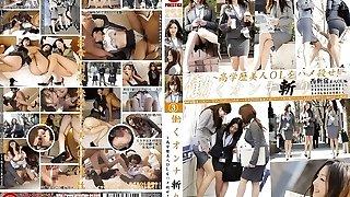 Yuria Kanno, Shizuka Kanno, Rika Miyashita, Yui Hirai in Office Nymphs Skipping Work 3 part 3