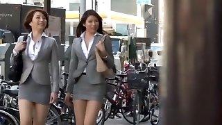 Horny Asian model Azusa Maki, Kaede Imamura, Makina Kataoka in Greatest Compilation, Voyeur JAV movie