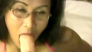 Japanese sexy brunette Vegas girl Kim