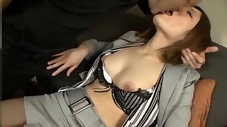 Awesome amateur Threesomes, Facial adult video