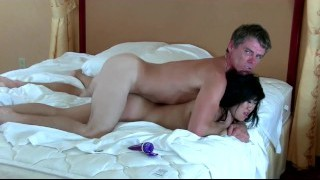 asian hooker gets creampied