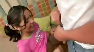 Babysitter tears up daddy while mom is at work