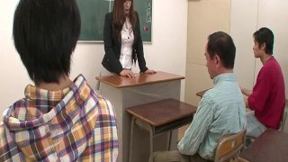 Insolent teacher is in for a super hot ravage at school