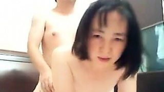 Gross Japanese Couple Fuck Doggystyle