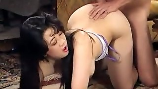 jaw-dropping japanese taking an hard dick in her ass