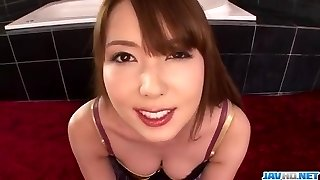 Point Of View scenes of pure suck off along Yui Hatano