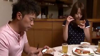 Akari Minamino in Aged Brothers Wife Pounded in Both Holes part Two
