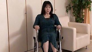 Unbelievable Japanese super-bitch Nozomi Mashiro, Miku Ohashi, Sho Nishino in Exotic Drink, Handjobs JAV scene