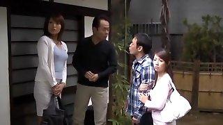 Crazy Japanese dame Miwako Yamamoto, Misa Yuuki in Exotic Blowjob, First-timer JAV movie