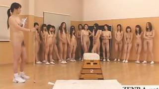 Nudist Japan futanari dickgirls and milf gym instructor