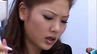 Aya Matsuki Hot kinky Asian doll enjoys