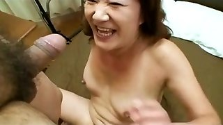 Asian Grandmother Loves Young Dick