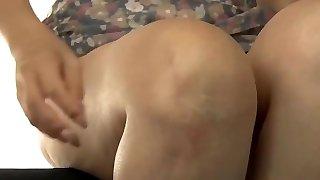 Japanese mom making son practice hookup