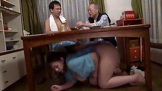 Incredible Japanese bi-atch in Fabulous Blowjob, Fetish JAV pinch