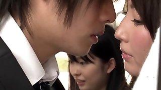 Amazing Japanese model in Hottest Outdoor, Public JAV movie