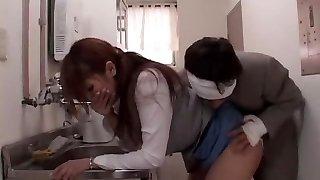 Exotic Japanese dame Ruru Anoa in Horny Office, Fucktoys JAV movie