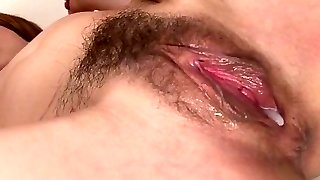 Her masseur gave her his pipe and a creampie