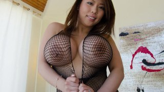 BANGBROS - Tigerr Benson Is A Sexy Asian With Huge Baps And A Fat Rump!
