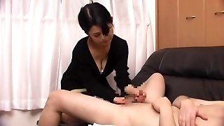 Asian Mature HJ Cum 2