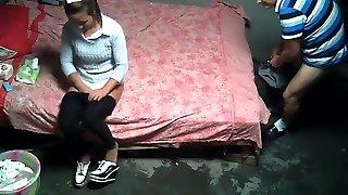 Amateur Asian Prostitute Earning Her Money