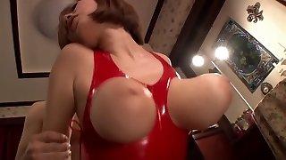 Impressive Japanese model in Exotic HD, Latex JAV scene