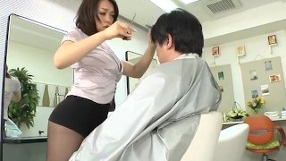 Avs-museum100438 Softcore Mini Miniskirt Barber Reiko Nakamori Sc1 Uncensored